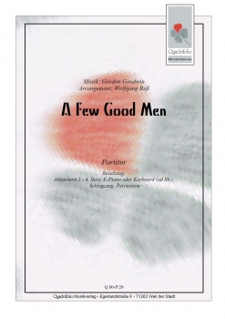 A Few Good Men - Partitur