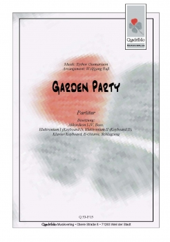 Garden Party - Partitur