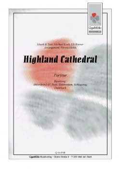 Highland Cathedral - Partitur