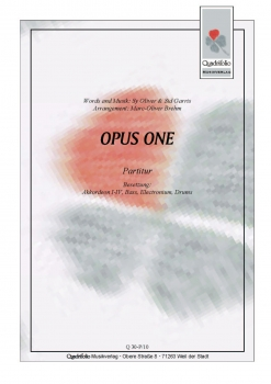 Opus One - Partitur