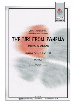 The Girl from Ipanema - Partitur