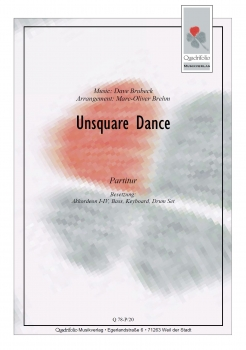Unsquare Dance - Partitur